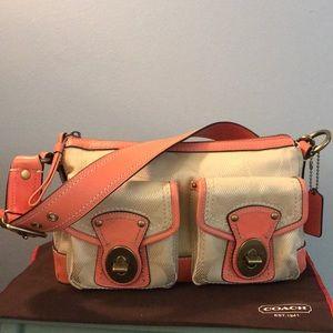 Coach Legacy Leather/Fabric Shoulder Bag